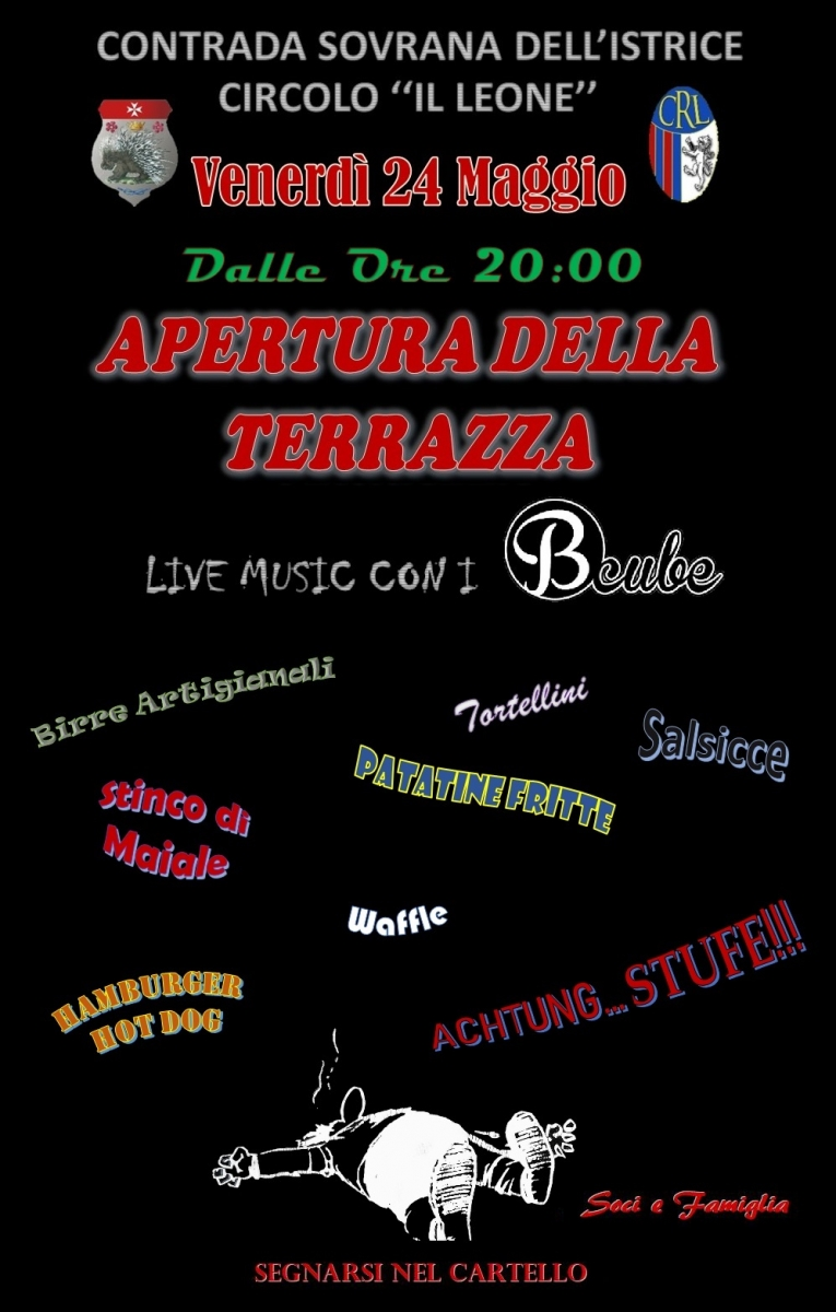 2019 - Locandina Terrazza